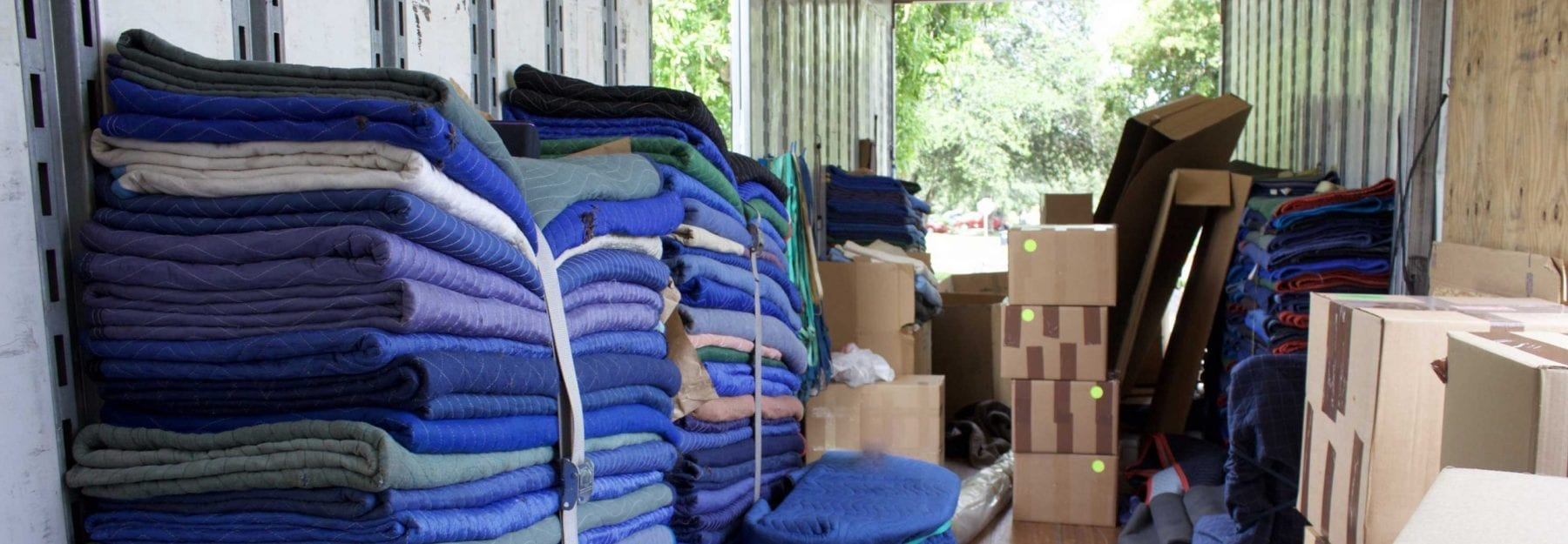 moving blankets
